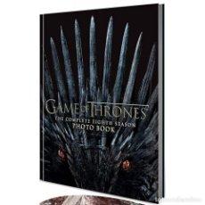 Libros: GAME OF THRONES: THE COMPLETE 8 SEASON PHOTO BOOK - SEMINUEVO. Lote 222473453