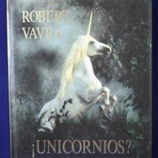 Libros: !UNICORNIOS? - ROBERT VAVRA. Lote 222500392