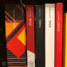 Libros: LOTE ROJO MAGAZINE ILUSTRACIÓN Y FOTOGRAFÍA ARTE: SEIS, IPON, FABEL, EGAL, START. Lote 236030855