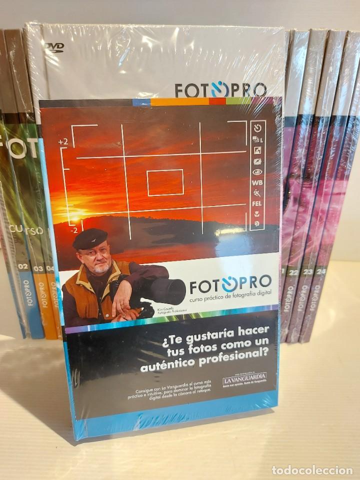 Libros: FOTOPRO. CURSO BÁSICO DE FOTOGRAFÍA DIGITAL. NUEVO A ESTRENAR / PRECINTADO. LEER DESCRIPCIÓN. - Foto 2 - 236383765
