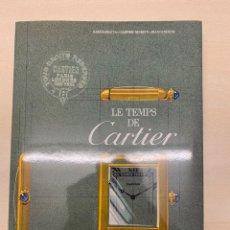 Libros: LE TEMPS DE CARTIER (EDICIÓN EN ESPAÑOL). Lote 236462035