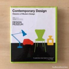 Libros: CONTEMPORANY DESING - CLASSICS OF MODERN DESING. Lote 238607810