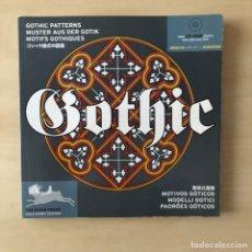 Libri: GOTHIC PATTERNS DISEÑOS GÓTICOS - CD. Lote 238915340