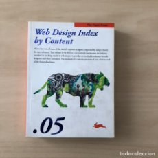 Libros: WEB DESING INDEX BY CONTENT 05. Lote 242337625