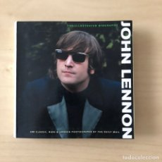 Libros: JOHN LENNON - THE ILLUSTRATED BIOGRAPHY - THE BEATLES. Lote 242355885