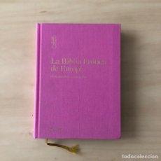 Libros: LA BIBLIA EROTICA DE EUROPA. Lote 243169890