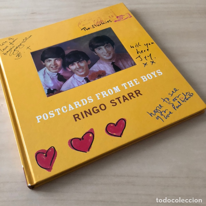 Libros: Postcards from the Boys Ringo Star - The Beatles - Foto 7 - 243175565