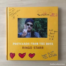 Libros: POSTCARDS FROM THE BOYS RINGO STAR - THE BEATLES. Lote 243175565