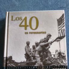 Libros: LOS 40 EN FOTOGRAFÍAS JAMES LESCOTT. Lote 244669125