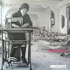 Libros: ESTRUCTURA MORAL DEL PARAÍSO, JONÁS TORRES CATÁLOGO EXPOSICIÓN - FOTOGRAFÍA. Lote 247105675
