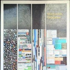 Libros: MAQUETAS DIGITALES PARA INTERNET Y OTROS MEDIOS DE COMUNICACIÓN, DAVID SKOPEC. Lote 247165030