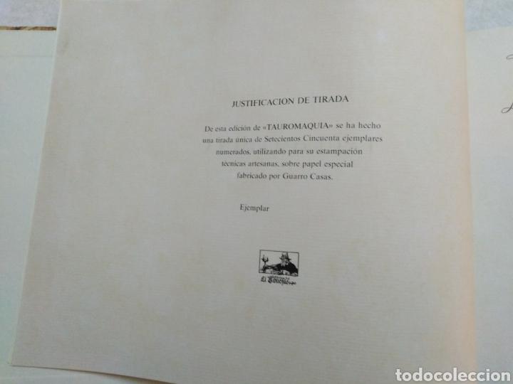 Libros: Libro tauromaquia ( ilustrado ) - Foto 6 - 250251600
