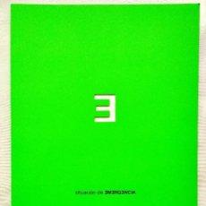 Libros: 2002 - SITUACIÓN DE EMERGENCIA - CATÁLOGO DE EXPOSICIÓN - NUEVO. Lote 250285180