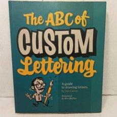"Libros: ""THE ABC OF CUSTOM LETTERING"" DE IVÁN CASTRO (2016) (EN INGLES). Lote 250331000"