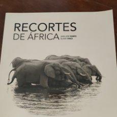 Libros: LIBRO RECORTES DE ÁFRICA. FOTOGRAFÍA.. Lote 251953040