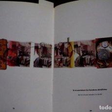 Libros: PAZOS CARLOS.SANGRE,CASCAJOS Y LENTEJUELAS/BLOOD,GRIT & GLITTER.GALERIA CIENTO.1988-1989. Lote 257603545