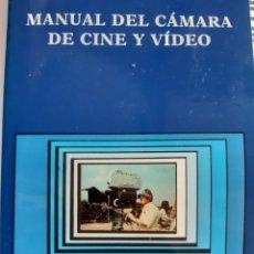 Libros: MANUAL DEL CAMARA DE CINE Y VIDEO + EL MONTAJE + COMO HACER TELEVISION DOMINIQUE VILLAIN CARLO SOLAR. Lote 260794360