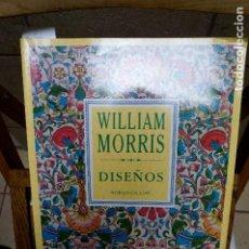 Libros: GILLOW NORA.WILLIAM MORRIS.DISEÑOS.40 LAMINAS A TODO COLOR.. Lote 262900910