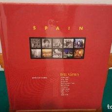 Libros: ESPANA DIEZ MIRADAS ~ TEN VIEWS ~ ED. BILINGUE ESPANOL INGLES ~. Lote 266808989