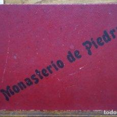 Libros: MONASTERIO DE PIEDRA. ALBUM FOTOS Y TEXTO DE M. RAMOS Y COBOS.AUTOTIPIAS DE J. LAVALL.. Lote 269575458