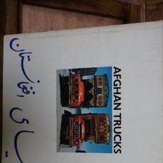Libros: AFGAN TRUCKS. JEAN-CHARLES BLANC.. Lote 271121558