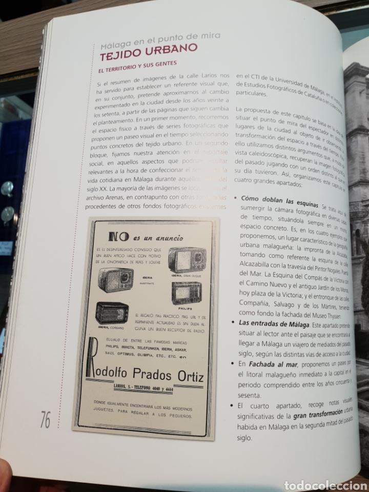 Libros: Malaga en el punto de mira. Javier Ramirez Gonzalez. Edicion Arguval de 2014. Cotizado. - Foto 3 - 278169133