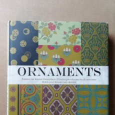 Libros: ORNAMENTS: PATTERNS FOR INTERIOR DECORATION - NATASCHA KUBISCH - TAPA DURA - DISEÑO - NUEVO. Lote 282047608