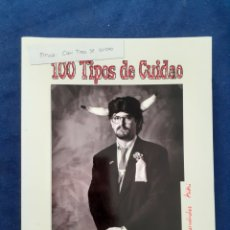 Libros: 100 TIPOS DE CUIDAO, TIPOS DE AGRUPACIONES CARNAVAL DE CADIZ, JUAQUIN HERNANDEZ KIKI, ESTADO NUEVO. Lote 291523913
