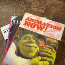 Libros: ILLUSTRATION NOW! VOL.1 Y VOL.2 + ANIMATION NOW! - TASCHEN (ENVÍO GRATIS). Lote 295978558