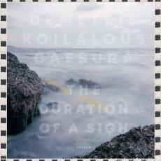 Libros: CAESURA THE DURATION OF A SIGH DEMETRIS KOILALOUS. Lote 296596748