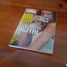 Libros: 100 TRUCOS DE FOTOGRAFIA DIGITAL. Lote 296908653