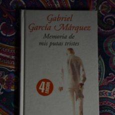 Libros: MEMORIA DE MIS PUTAS TRISTES GABRIEL GARCÍA MÁRQUEZ. Lote 50113509