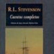 Libros: CUENTOS COMPLETOS ROBERT LOUIS STEVENSON : VALDEMAR, GASTOS DE ENVIO GRATIS. Lote 109341539
