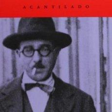 Libros: LIBRO DEL DESASOSIEGO PESSOA, FERNANDO ACANTILADO GASTOS DE ENVIO GRATIS. Lote 56037958