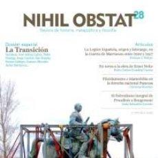 books - NIHIL OBSTAT, Nº 28 Especial Transición Revista de historia, metapolítica GASTOS DE ENVIO GRATIS - 64901374