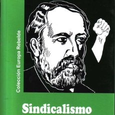 Livros: SINDICALISMO REVOLUCIONARIO GEORGES SOREL GASTOS DE ENVIO GRATIS ENR. Lote 257922280