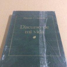 Libros: DISCURSO DE MI VIDA / ALONSO CONTRERAS. Lote 75626209