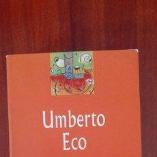 Libros: EL NOMBRE DE LA ROSA UMBERTO ECO. Lote 86102680