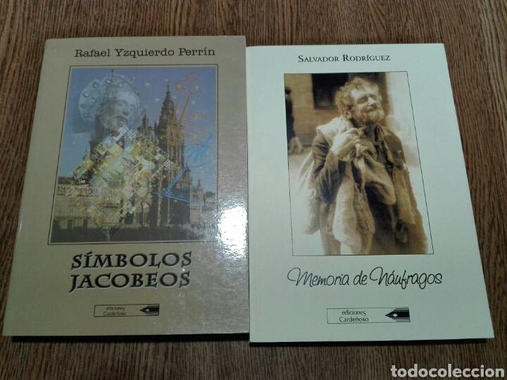2 LIBROS GALICIA. EDICIONES CARDEÑOSO (Libros Nuevos - Literatura - Ensayo)