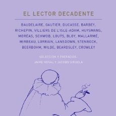 Libros: EL LECTOR DECADENTE AA. VV. ATALANTA, 2017 GASTOS DE ENVIO GRATIS. Lote 103180551