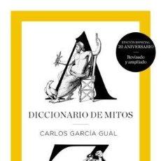 Libros: DICCIONARIO DE MITOS GARCIA GUAL, CARLOS TURNER GASTOS DE ENVIO GRATIS. Lote 103653763