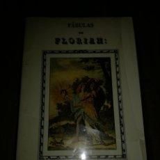 Libros: FABULAS DE FLORIAN. Lote 110125254