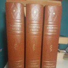 Libros: SIGMUND FREUD. OBRAS COMPLETAS. CUARTA EDICIÓN. 1981. BIBLIOTECA NUEVA. Lote 113097363