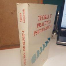 Libros: TEORÍA Y PRÁCTICA PSICOLÓGICA. Lote 113115647