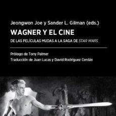 Libros: WAGNER Y EL CINE JOE, JEONGWON FÓRCOLA EDICIONES 2018 GASTOS DE ENVIO GRATIS. Lote 115122627