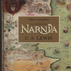 Libros: LAS CRÓNICAS CRONICAS DE NARNIA OBRA COMPLETA C. S. LEWIS PAULINE BAYNES EDICION ILUSTRADA DESTINO . Lote 115165111