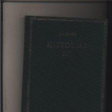 Libros: HISTORIAS. LIBRO III HERÓDOTO CSIC GASTOS DE ENVIO GRATIS. Lote 115165419