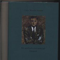 Libros: EL ANALISIS EXISTENCIAL ENSAYOS LUIS MARTIN SANTOS TRIACASTELA GASTOS DE ENVIO GRATIS. Lote 123858495