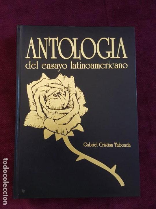 Libros: ANTOLOGIAS DEL ENSAYO LATINOAMERICANO Y POEMA AMERICANO - Foto 2 - 132788882