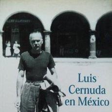 Libros: VALENDER, JAMES LUIS CERNUDA EN MÉXICO. 2002.. Lote 136813698